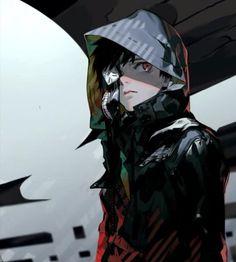 Ken Kaneki from Tokyo Ghoul