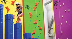 Funtopia Birthday Parties - Sender One Climbing - Indoor Rock Climbing Gym