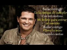 Bailar Contigo - Carlos Vives [Corazón Profundo (2013) • (Con Letra)] - YouTube