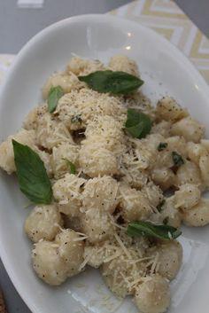 Lemon Garlic Gnocchi