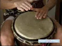 How to Play the Djembe Drum : Slapping Techniques for the Djembe - YouTube