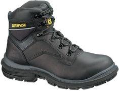 Buty robocze Generator 6'' S3 HRO SRA marki Caterpillar to wygodne obuwie dla mężczyzn. Są przeznaczone dla pracowników, którzy pracują w trudnych i niebezpiecznych warunkach. Idealne dla operatorów sprzętu oraz osób zajmujących się handlem, przemysłem, budownictwem i produkcją. Caterpillar Shoes, Hiking Boots, Black, Fashion, Moda, Black People, Fashion Styles, Fashion Illustrations