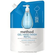 Method Naturally Derived Gel Hand Wash Refill, Sea Minerals, 34 Ounce (Pack of 6) Check It Out Now     $26.94    This biodegradable gel hand wash refill will fill your 12 oz. Hand wash pump almost three times. The convenient, smar ..  http://www.healthyilifestyles.top/2017/03/28/method-naturally-derived-gel-hand-wash-refill-sea-minerals-34-ounce-pack-of-6/