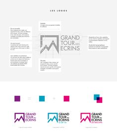 Showcase and discover creative work on the world& leading online platform for creative industries. Grand Tour, Icon Package, Eco Brand, Branding, Parc National, Creative Industries, Visual Identity, Communication, Signage
