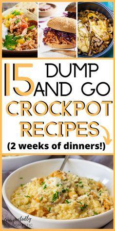 Crockpot Dump Recipes, Crockpot Dishes, Crock Pot Cooking, Cooking Recipes, Pasta Recipes, Crock Pot Dump Meals, Slow Cooker Recipes Cheap, Dump Dinners, Crockpot Ideas