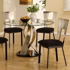 furniture of america sparling 5 piece dining table set with, Esstisch ideennn