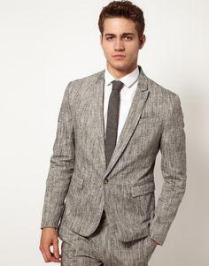 ++ jacket . linen