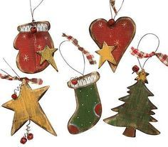 31 Best Cool Wooden Christmas Ornaments To Paint Images Wooden