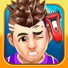 #NEW #iOS #APP Kids Hair Shave Salon Games (Girls & Boys) - Fancy Quiz Games