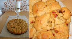 PIZZY, CHLEBY - Sicilský trhací slaný koláč