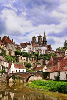 Ever wondered what the French countryside has to offer? Check out 9 Charming Towns in France to see just how amazing it truly is! Click through to read more! village, 9 Charming Towns In France - Avenly Lane Travel Places Around The World, Oh The Places You'll Go, Places To Travel, Places To Visit, Around The Worlds, Travel Destinations, Provence, Paris, Belle France