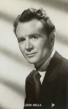 """Sir John Mills CBE, 1908 """"Ryan's Daughter"""" and many many others. Hollywood Actor, Hollywood Stars, Old Hollywood, Classic Hollywood, Classic Movie Stars, Classic Movies, Old Film Stars, John Mills, People Of Interest"""