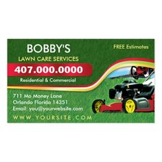 210 best lawn care business cards images on pinterest business landscaping lawn care mower business card template wajeb Choice Image