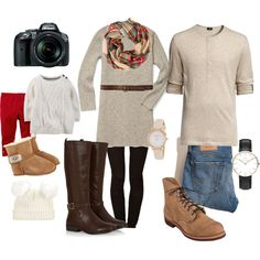 Fall family photos by kylagail on Polyvore featuring polyvore, fashion, style, Rebecca Minkoff, Hollister Co., Tamara Mellon, Red Wing, Kate Spade, Daniel Wellington, Abercrombie & Fitch, UGG Australia and Nikon