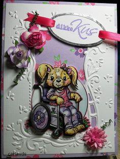 in de rolstoel