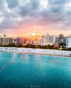 Miami beach, fl by miami & florida лето и фотограф South Beach Miami, Miami Florida, Florida Beaches, Tropical Beaches, South Florida, Miami State, Sandy Beaches, San Diego, San Francisco