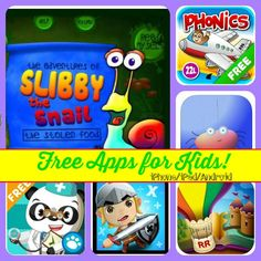 Free Apps for Kids: iPhone/iPad/Android!