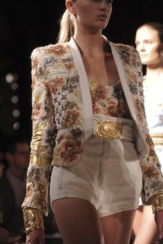 Balmain at Paris Fashion Week Spring 2012