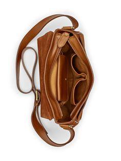 Suede Cross-Body Bag - Ralph Lauren New Arrivals - RalphLauren.com