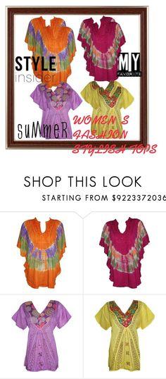 WOMEN'S FASHION STYLISH TOPS by globaltrendzs-flipkart on Polyvore  http://www.polyvore.com/cgi/set?id=199660723  #tops #womens #fashion #summer #stylish #indiatrendzs #womenstops