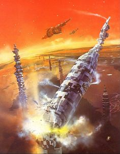 70s Sci-Fi Art: moonzerotwo: Away And Beyond - Chris Foss