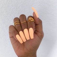 Your nails will appear fabulous! In general, coffin nails are also thought of as ballerina nails. Cute pastel orange coffin nails are amazing if you want to continue to keep things chic and easy. Marble nail designs are perfect if… Continue Reading → Coffin Nails Matte, Best Acrylic Nails, Acrylic Nails Orange, Neon Orange Nails, Acrylic Summer Nails Coffin, Bright Summer Acrylic Nails, Coffin Acrylics, Mint Green Nails, Acrylics Nails For Summer