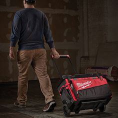 """Milwaukee Tool Introduces 18"""" and 24"""" Rolling Bags Mick Thomson, Rolling Bag, Plumbing Tools, Milwaukee Tools, Tool Storage, Cool Tools, Tool Box, Storage Solutions, Outdoor Power Equipment"""