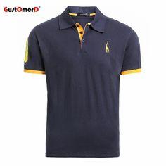 3388840739c GustOmerD Summer 100% Cotton Polo Shirt Men Short Sleeve Casual Mens Shirts  Cami  fashion  clothing  shoes  accessories  mensclothing  shirts (ebay  link)