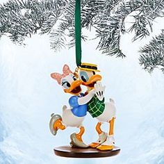 Donald duck christmas decorations