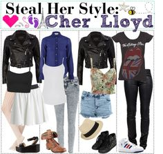 """Steal Her Style- Cher Lloyd"" by tipsforthefuture ❤ liked on Polyvore"