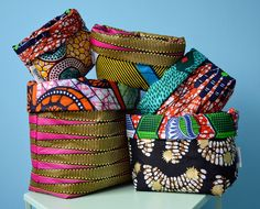 Storage basket by Susan's Wax via Etsy.com