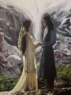 Aragorn and Arwen by Shogun95.deviantart.com on @deviantART