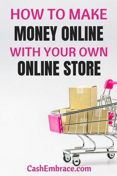 No idea how to create your own online store to make money from home? Read to find out how to turn simple side hustle into a lucrative online business. This article will give you plenty of tips about how to make money online with your store. Make Money Fast, Make Money Blogging, Make Money From Home, Make Money Online, Home Based Business, Business Tips, Online Business, Ecommerce Jobs, How To Start A Blog