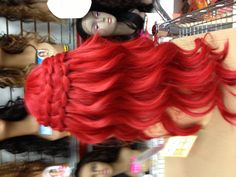 Ariel hair. Personally I think this would work in real life.