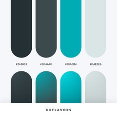 Let's create something beautiful 😍 📍 Tag your designer friends ♥️ ➡️ Color Codes: 243033 // // // . Ui Palette, Flat Color Palette, Colour Pallette, Colour Schemes, Color Patterns, Web Design, Color Swatches, Color Theory, Color Shades