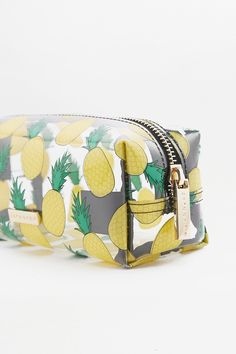 Slide View: 2: UO X Skinnydip Pineapple Pencil Case