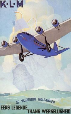 K.L.M. Advert for the Fokker XXXVI