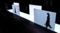 Future of Fashion 2014 catwalk by architect Frank Minnaërt Fashion Runway Show, Fashion 2014, Catwalk Fashion, Dance Photos, Cat Walk, New Media, Visual Merchandising, Art Education, Architecture