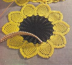 Sunflower crochet free pattern (2 free)