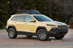 Cherokee Adventurer Concept boasts Trailhawk capability for the 2014 Easter Jeep Safari  http://www.4wheelsnews.com/cherokee-adventurer-concept-trailhawk-capability-2014-easter-jeep-safari/
