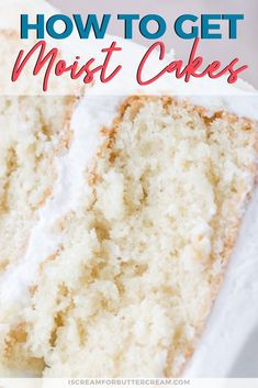 White Cake Recipes 80433 I'm sharing my best tips for how to get moist cakes. It's a question I get asked often. How do I make cakes moist. Well, it really is possible to make scratch cakes that actually come out moist. Cake Recipes From Scratch, Easy Cake Recipes, Dessert Recipes, White Cake Recipes, Pudding Recipes, Delicious Desserts, Baking Tips, Baking Recipes, Baking Secrets