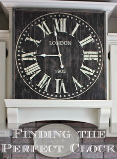 Finding the Perfect Clock - Hymns and Verses