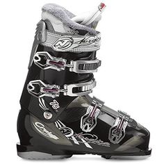 Nordica Cruise 75 Ski Boots - Women's Black 22.5 *** Click on the image for additional details.