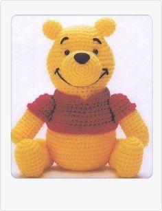 PDF Amigurumi Crochet Pattern   Winnie the Poon von xsugarhuix