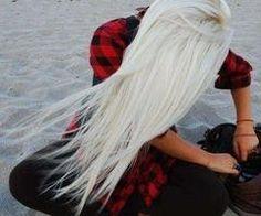 long hair.