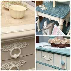 Salvaged Inspirations: Chalk Painted Furniture @ The Painted Bench