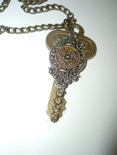Altered keys keys pinterest key key jewelry and key crafts aloadofball Image collections