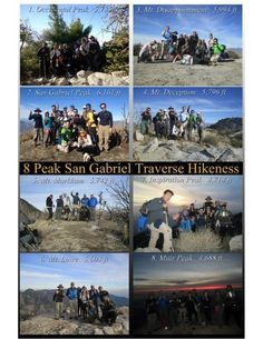San Gabriel Peak Trail is a mile heavily trafficked out and back trail located near Mount Wilson, California that features beautiful wild. Disappointment, Gabriel, Trail, Hiking, California, San, Goals, Archangel Gabriel, Trekking