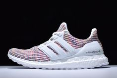 on sale 29b4f 9a90c New adidas Ultra Boost 4.0 White Multi-Color BB8698