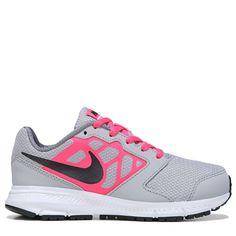 sports shoes 6ce28 8390d Nike Kids  Downshifter 6 Running Shoe Pre Grade School Shoes (Grey Pink)